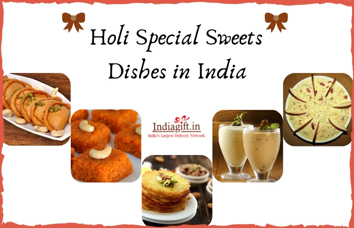 Holi Special Sweets Dishes in India