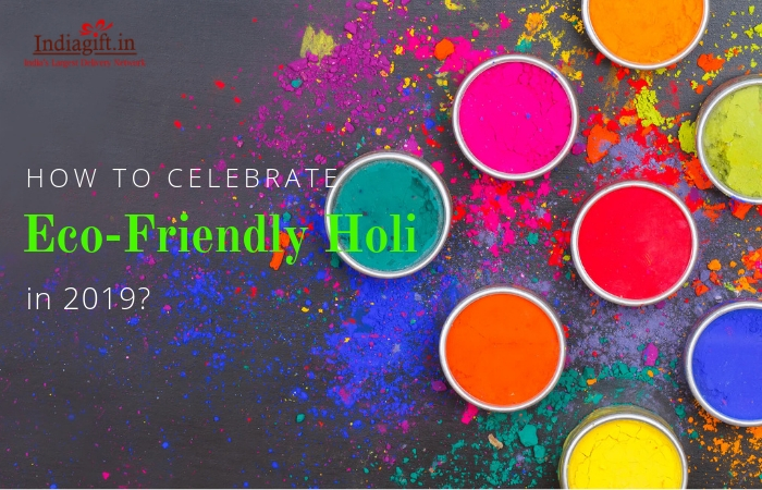 How to celebrate Ecofriendly Holi in 2019