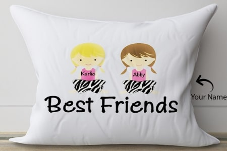 personalised pillow for friend