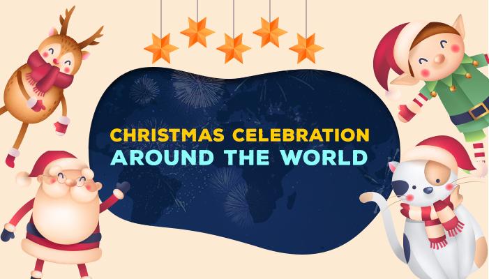 How Christmas is Celebrated around the worldArtboard 1