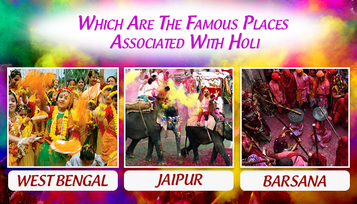 Famous Places Associated With Holi