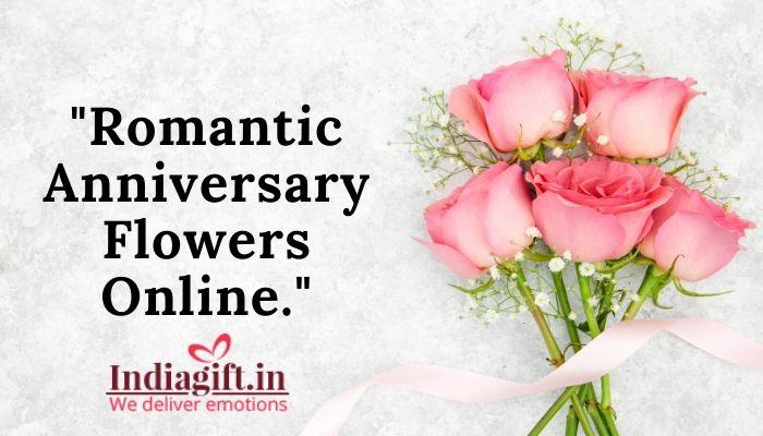 Romantic Anniversary Flowers Online