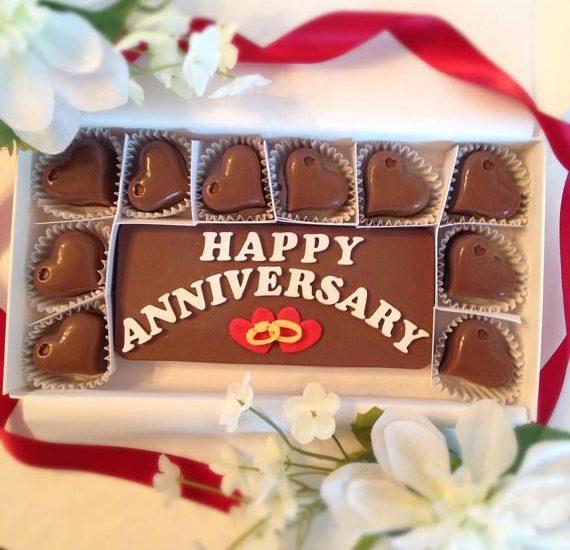 Chocolate Gift Ideas for Wedding Anniversary Celebration