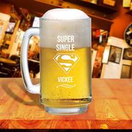 Super Single Beer Mug
