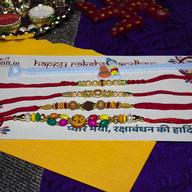 Colourful Rakhi Combo of 5