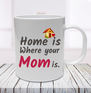 Mom is Home Mug
