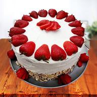 Premium Strawberry Cake from 5 Star