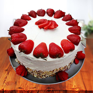 Premium Strawberry Cake from 5 Star