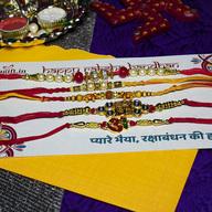 Exquisite Rakhi Combo of 5