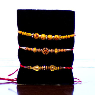 Set of 3 Rakhis-Basic
