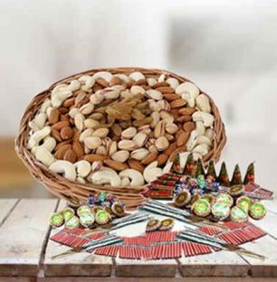 Mixed Dry Fruits with Crackers