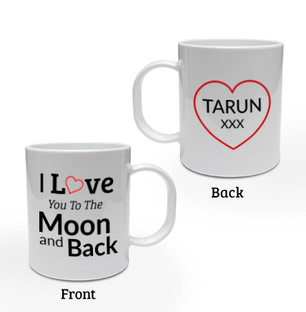Love You Personalised Mug
