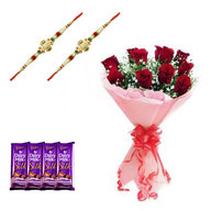 Rakhi Combo for Loving Family