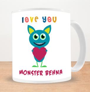 Monster Behan Photo Mug