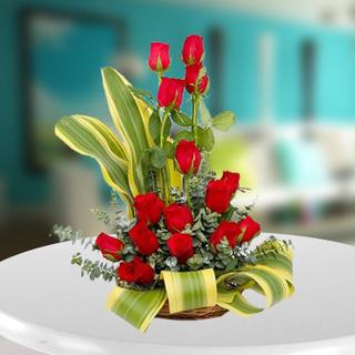 Red Roses Floral arrangement
