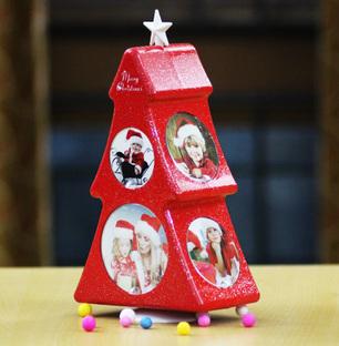 Christmas Tree Photo Stand
