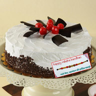 Black Forest Gateau with Rakhi