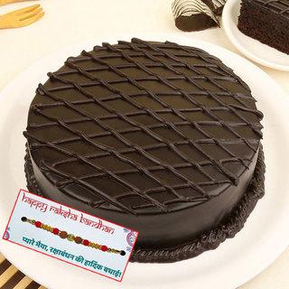 Chocolate Cake with Rakhis