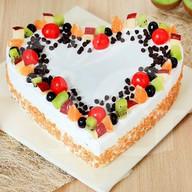 Fruity tooty Butterscotch Cake