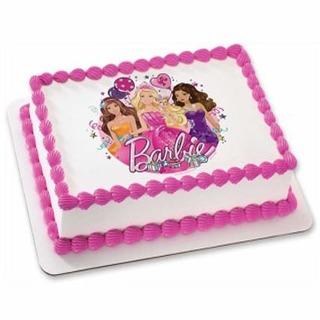 Barbie Photo Cake Home Delivery