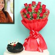 Delicious Choco & Rose Combo