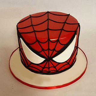 Glorious Spiderman Cake