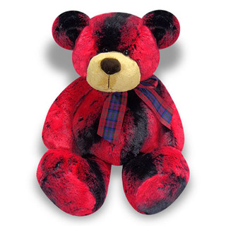 Red & Black Teddy
