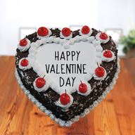 Valentine Black Forest - Heart Shaped