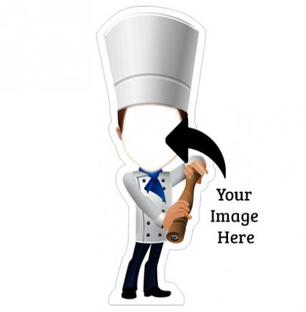 Funny Character Chef