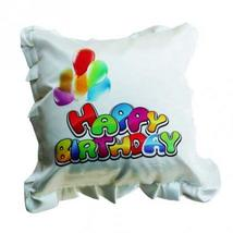 Happy Birthday Square Cushion