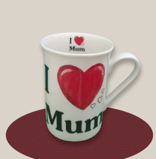I Love You Mum Mug