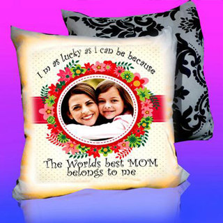 Mothers Day LED Cushion Best MOM