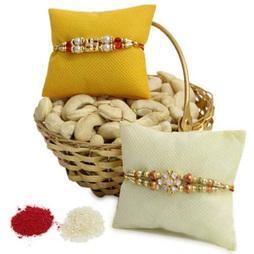 Dry Fruit Basket N Rakhi