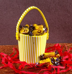 Caramel Toffees Bucket