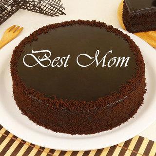 Best Mom Chocolate Truffle Cake