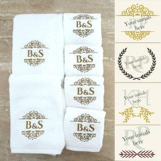 Personalised Monogrammed Towel Set