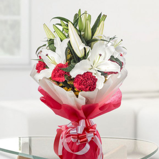 Lilies and Carnations Bouquet