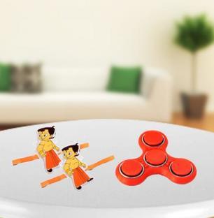 Kids Rakhi with fidget Spinner