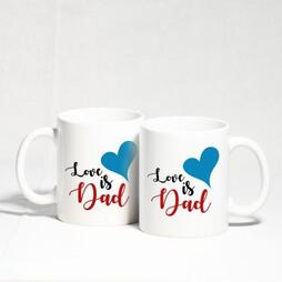 Love is Dad Mug