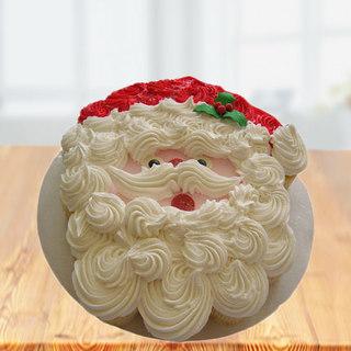 Swirl Santa Cake