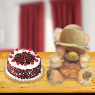Blackforest Cake and Teddy