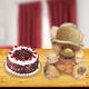Blackforest Cake and Teddy