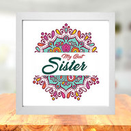 My Best Sister Photo Frame