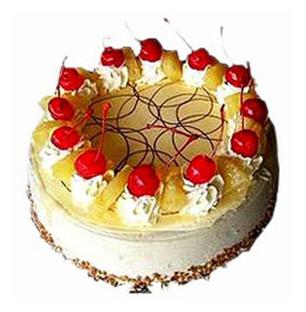 Valentine 5 Star Hotel Vanilla Cake