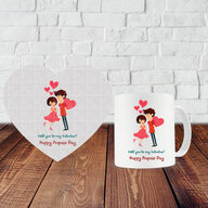 Propose Day Puzzle and Mug