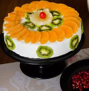 Kiwi And Orange Fruit Cake