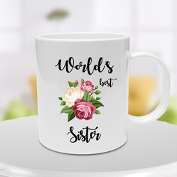 Worlds Best Sister Mug