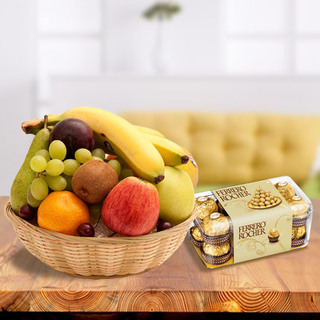 Fresh Fruits with Chocolates