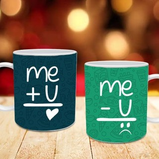 You + Me Couple Mug