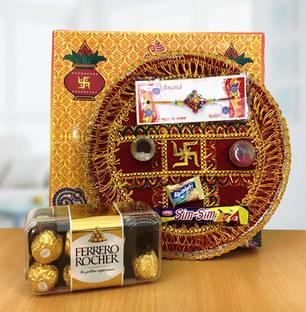 Rakhi Thali with Chocolate